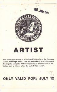 Northsea Jazzfestival 1980