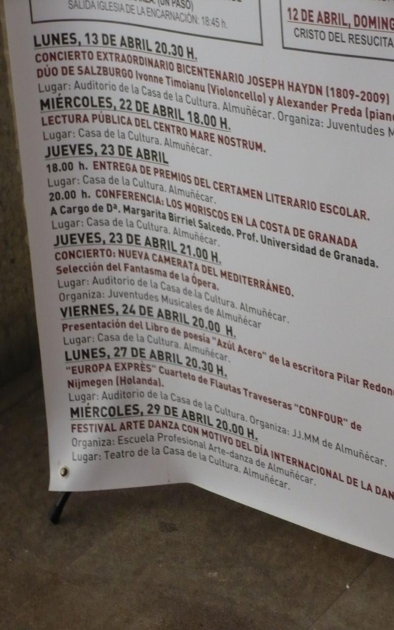 Confour Tour Spain 2009/ Almuñécar